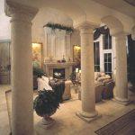 фото Колонны в интерьере 20012019 №248 - photo Columns in the interior - design-foto.ru