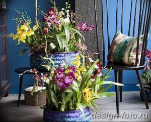 фото Орхидеи в интерьере 28.11.2018 №085 - photo Orchids in the interior - design-foto.ru