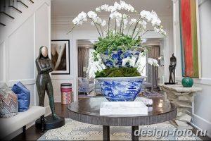 фото Орхидеи в интерьере 28.11.2018 №089 - photo Orchids in the interior - design-foto.ru