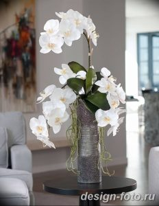 фото Орхидеи в интерьере 28.11.2018 №091 - photo Orchids in the interior - design-foto.ru