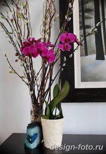 фото Орхидеи в интерьере 28.11.2018 №120 - photo Orchids in the interior - design-foto.ru