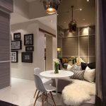фото Светлый интерьер квартиры 16.11.2018 №113 - Bright interior apartment - design-foto.ru