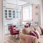 фото Светлый интерьер квартиры 16.11.2018 №510 - Bright interior apartment - design-foto.ru