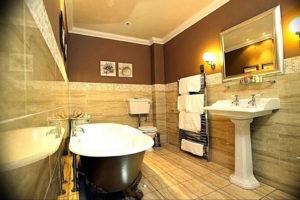 Фото бежевая ванна интерьер 14.08.2019 №018 - beige bathtub interior - design-foto.ru