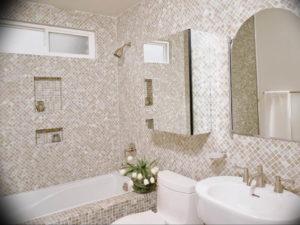 Фото бежевая ванна интерьер 14.08.2019 №023 - beige bathtub interior - design-foto.ru