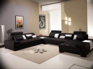 Фото бежевый интерьер гостиной 14.08.2019 №020 - beige living room interio - design-foto.ru