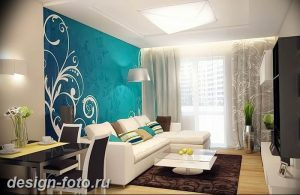 Акцентная стена в интерьере 30.11.2018 №506 - Accent wall in interior - design-foto.ru