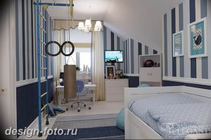 Интерьер детской для маль 02.12.2018 №415 - photo Interior nursery - design-foto.ru