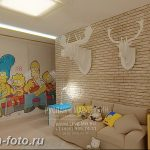 Интерьер детской для маль 02.12.2018 №469 - photo Interior nursery - design-foto.ru