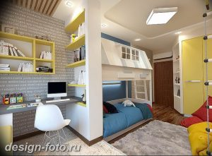 Интерьер детской для маль 02.12.2018 №473 - photo Interior nursery - design-foto.ru