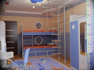 Интерьер детской для маль 02.12.2018 №482 - photo Interior nursery - design-foto.ru