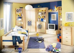 Интерьер детской для маль 02.12.2018 №493 - photo Interior nursery - design-foto.ru