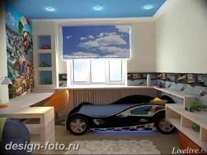 Интерьер детской для маль 02.12.2018 №501 - photo Interior nursery - design-foto.ru