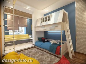 Интерьер детской для маль 02.12.2018 №522 - photo Interior nursery - design-foto.ru