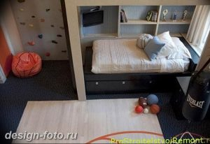 Интерьер детской для маль 02.12.2018 №539 - photo Interior nursery - design-foto.ru