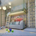 Интерьер детской для маль 02.12.2018 №593 - photo Interior nursery - design-foto.ru